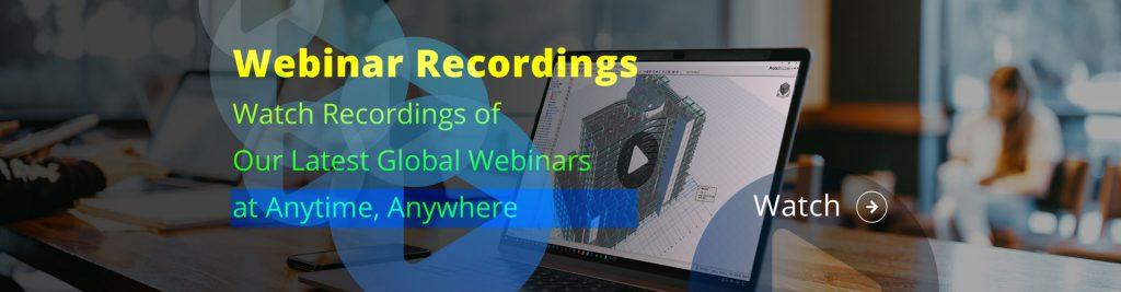 Webinar recording link